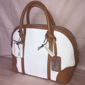 Valentina Genuine Leather handbag with strap
